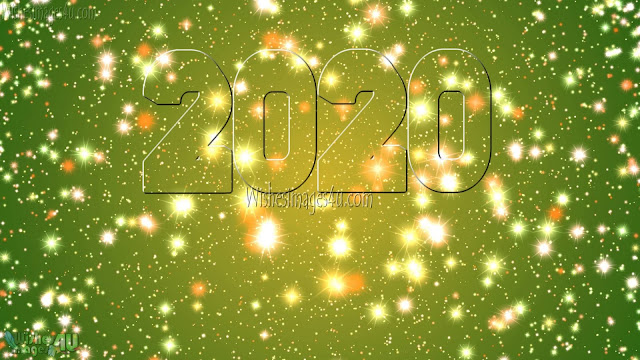New Year 2020 HD Sparkling Desktop Wallpapers Download Free