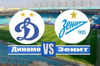 Зенит - Динамо смотреть онлайн бесплатно 06 декабря 2019 прямая трансляция в 19:30 МСК.