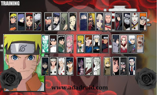 Download Naruto Senki Mod Blood Moon V2 Apk
