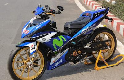 Modifikasi Jupiter MX Menjadi Road Race