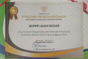 Aceh Besar Kembali Mendapatkan Penghargaan Penyaluran BLT Tercepat
