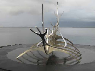 The Sun Voyager Looks Out To Sea