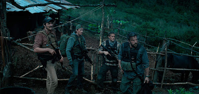 Triple Frontier 2019 Netflix movie Pedro Pascal Charlie Hunnam Garrett Hedlund Ben Affleck