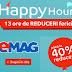Happy hours la eMAG 15 octombrie 2017