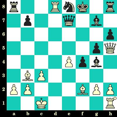 Les Blancs jouent et matent en 2 coups - Boris Spassky vs Boris Vladimirov, Bakou, 1961