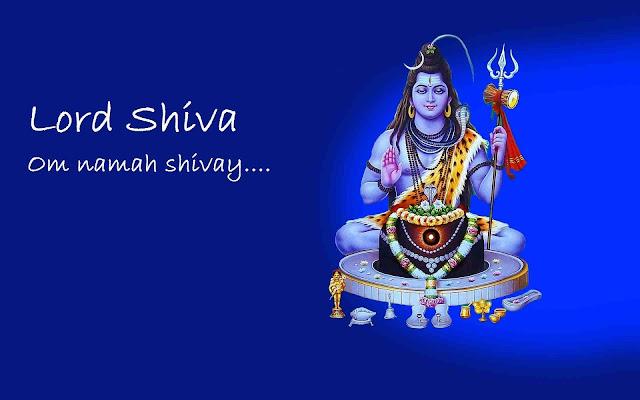 Best Lord Shiva / Maha Shivaratri  Wallpaper In Blue Background