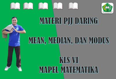 Materi Matematika Kelas VI - Mean, Median, dan Modus