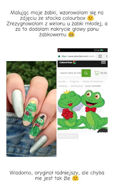 inspiracja do żabich paznokci