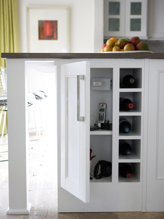 Rent to blog savvy storage solutions for small spaces - Small space kitchen island ...