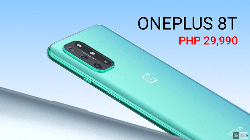 OnePlus 8T is more affordable than OnePlus 8, priced at PHP 29,990!