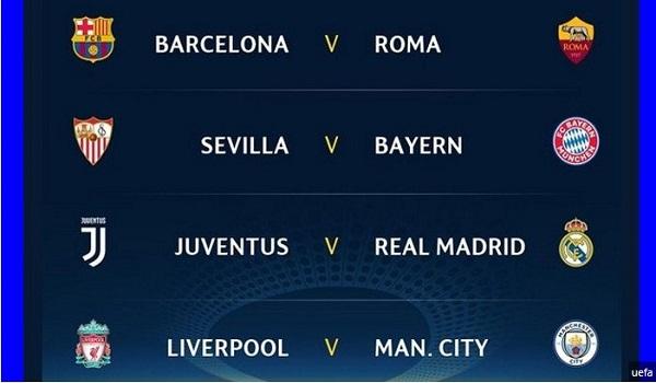 Jadwal Liga Champions 2017-2018
