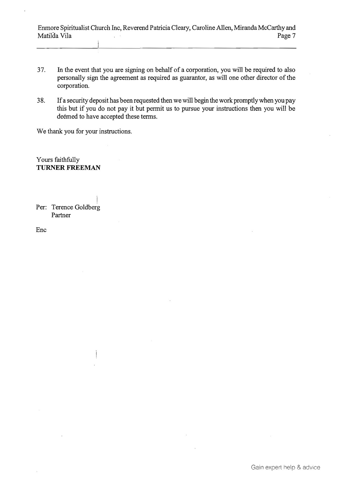 Filed Application for Assessment of Solicitor/Client Costs