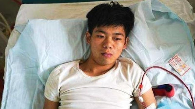 Chinese Boy Who Sold His Kidney To Buy An iPhone Now Disabled For Life