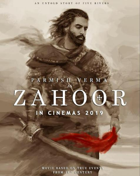 Zahoor next upcoming punjabi movie first look, Poster of download first look Parmish Verma Poster, release date