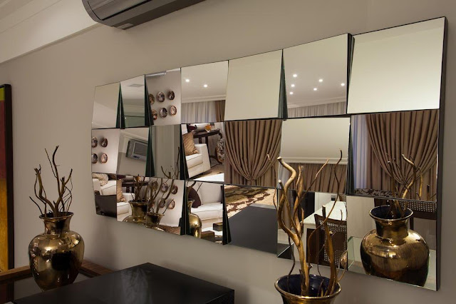 Espelho em Angulo 3d newartvidros itaim bibi sp
