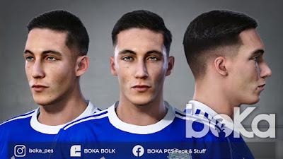 PES 2021 Faces Harry Wilson by Boka