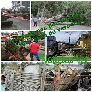 Lista de 40 municipios en Veracruz afectados por la surada