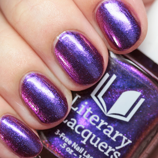 Literary Lacquers Grin Without a Cat