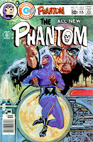 The Phantom v2 #73 charlton comic book cover art by Don Newton