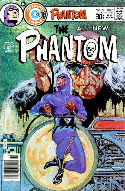 The Phantom v2 #73 charlton comic book cover art by Don Newton
