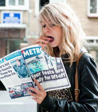 Bukan Hanya Untuk di Baca, Koran ini Juga Bisa di Makan, Penasaran Rasanya?