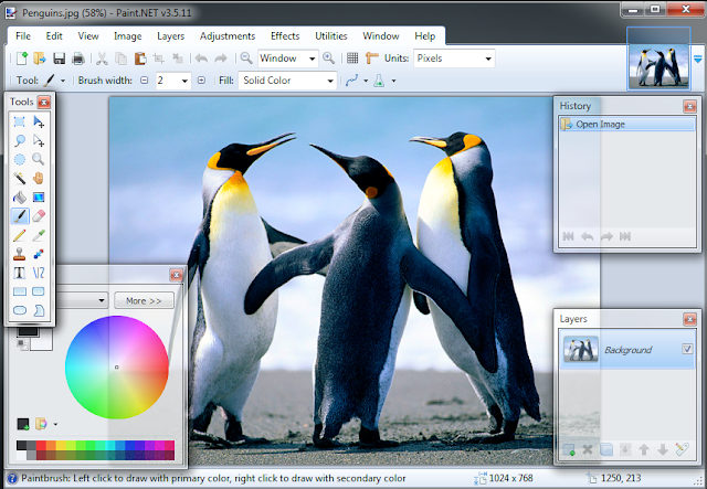 تحميل برنامج تصميم الصور Paint.net