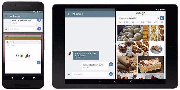 Android 7.0 N Multi Window