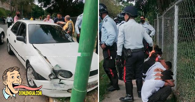 Funcionaria de Polimiranda detenida durante un secuestro