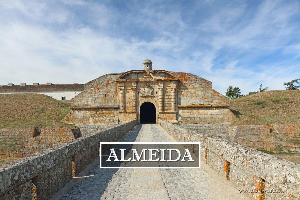 Almeida, un bello pueblo histórico de Portugal