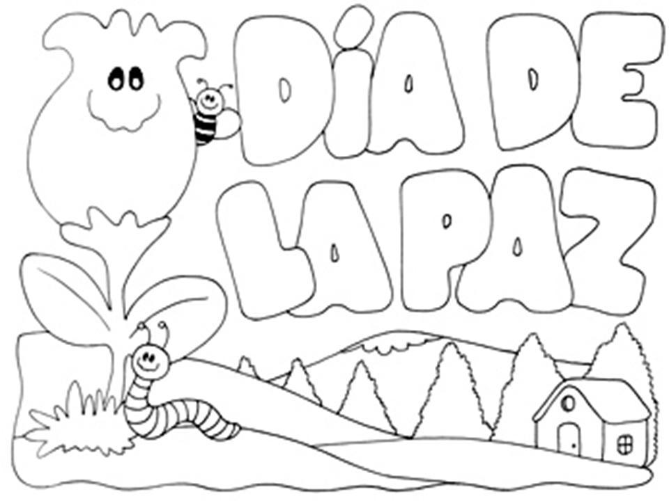 Imágenes Para Colorear Dibujos Del Día De La Paz: Dibujos Para Todo: Dibujos De La Paz