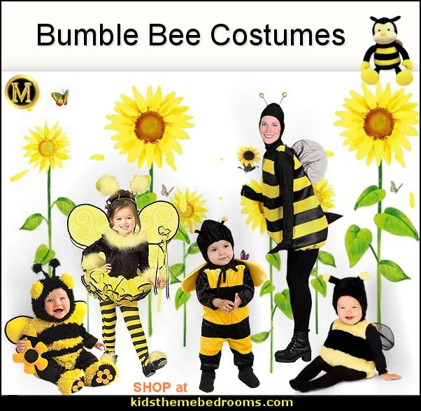 bumble bee costumes honey bee costumes Halloween Costume party  Costume
