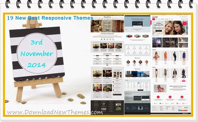 19 New Best Responsive Themes