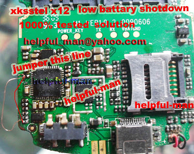 xksstel x12 x18 x16 low battary shutdown 1000%