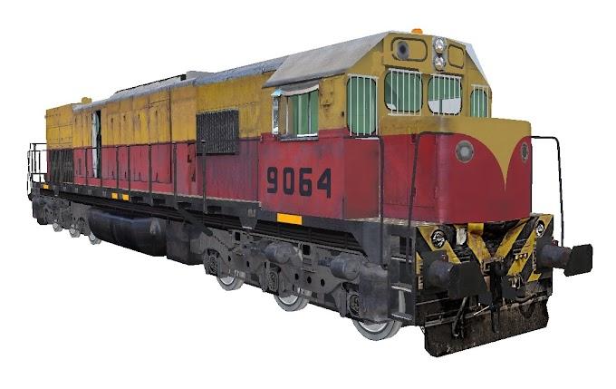 GM GT22CW 9064 Ferrobaires - 758 Gato Negro