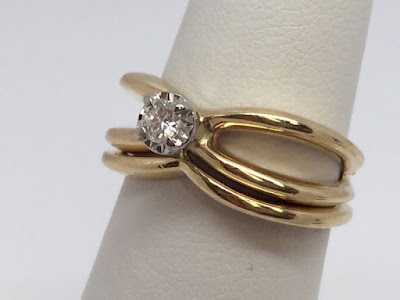 Promise Ring Engagement Ring And Wedding Ring Set