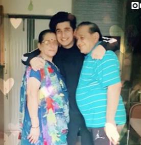 Bhavin bhanushali Family