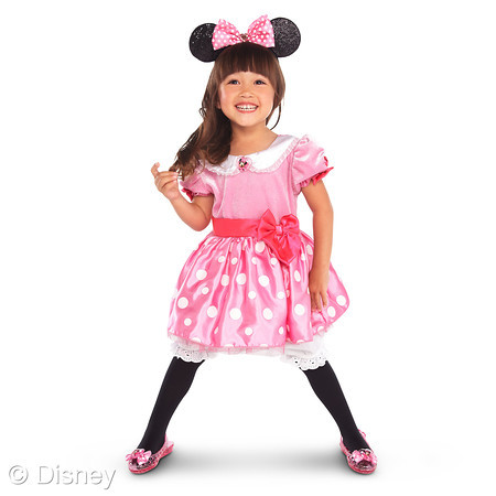 MINNIE MOUSE PINK COSTUME COLLECTION Costume - $34.50. Light-up Shoes - $16.50. Bow Headband - $7.50  sc 1 st  Disney Sisters & Disney Sisters: Halloween Dress Up With Disney Store - Part 1