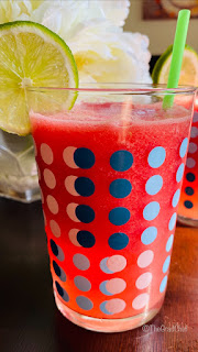 WATERMELON-GINGER COOLER