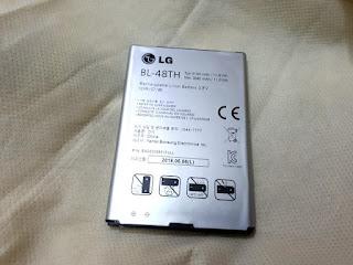 Baterai LG Optimus G Pro Original 100% BL-48TH E980 E985 E988