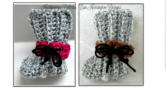KALEN BOOTIES - Newborn to 6 months - Free Crochet Pattern