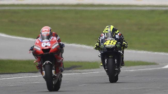 Valentino Rossi Menyalahkan Kecepatan M1 Dan Tikungan 1 Di Malaysia 2019