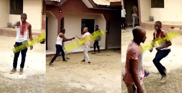 University Student Fights His Crush's Boyfriend After Spending Money On The Girl (Video)
