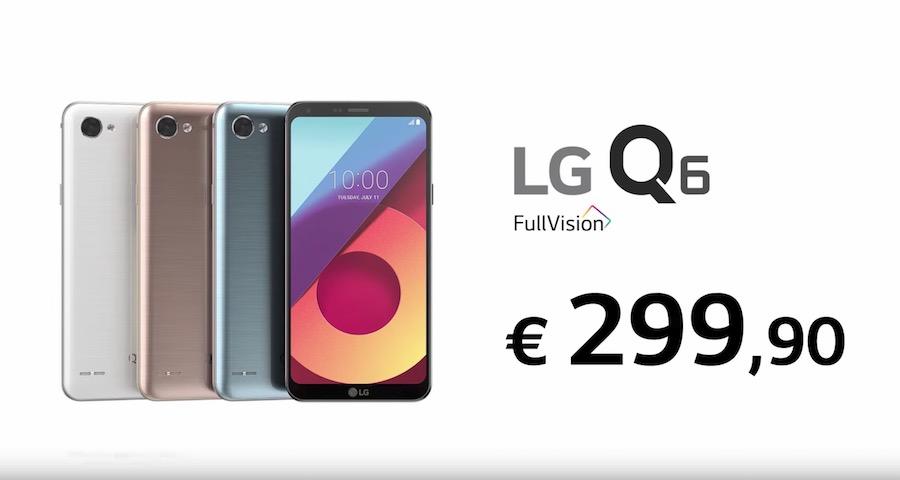 Canzone della Pubblicità di LG Q6, Spot di Settembre 2017