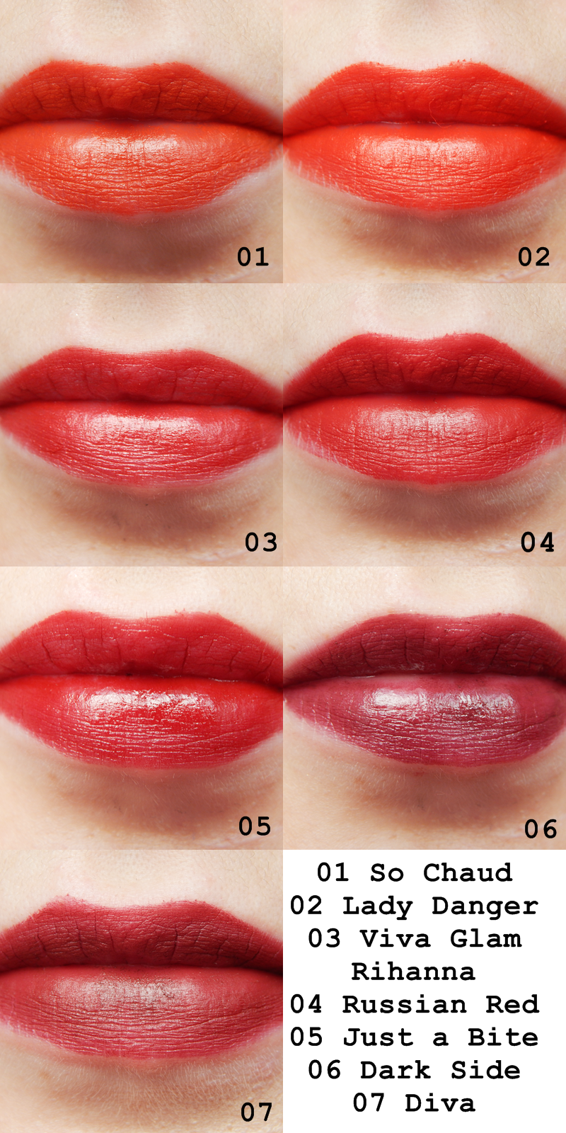 TanjaWhatsername: MAC Lipstick Collection: The Oranges and ...