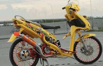 Modifikasi Motor Mio Thailook