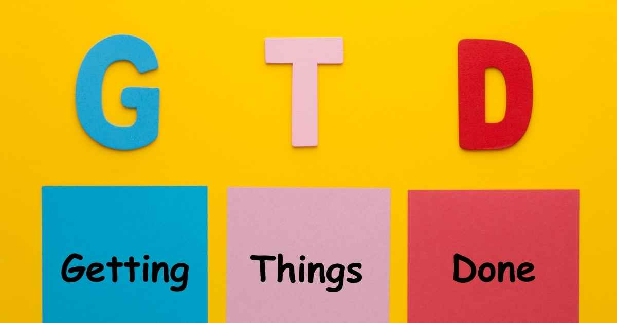 What is GTD? Workflow Management Method