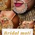 Bridal moti nath designs