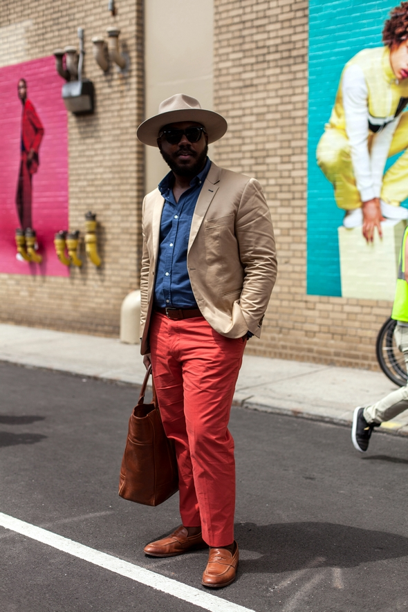 Kelvin notoriously dapper New York Street style new york fashion week mens 2016 pretty style southern style black mens fashion men in hats angel verde the stylepreneur