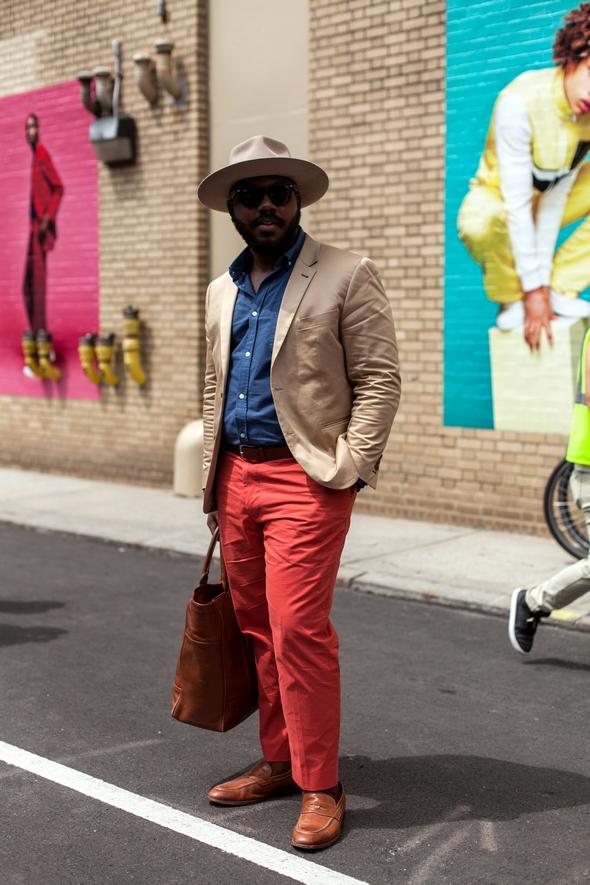 Kelvin notoriously dapper New York Street style new york fashion week mens 2016 pretty style southern style black mens fashion men in hats angel verde the stylepreneur