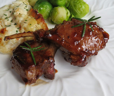 Honey Mustard & Balsamic Lamb Chops